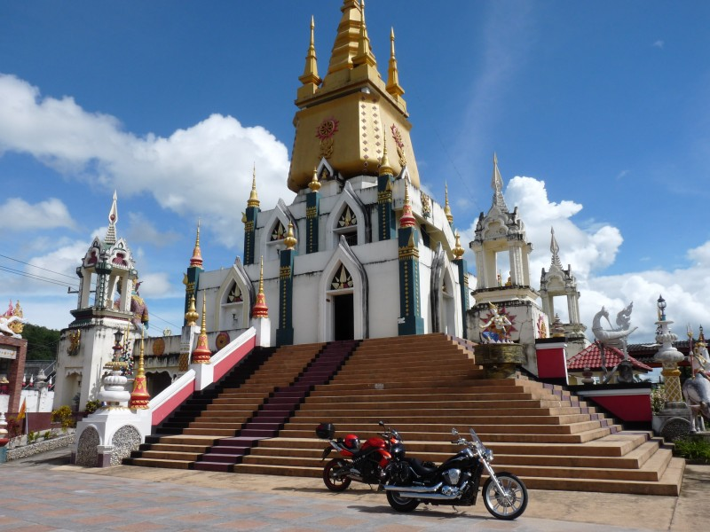 Wat Sai Khao - Phan District, Chiang Rai Province, Thailand
