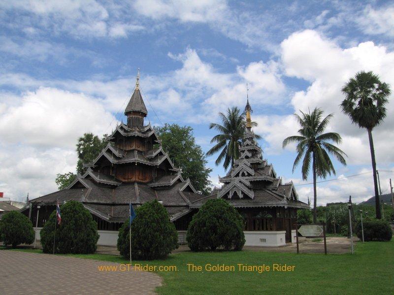 Mae Hong Son Temples -Wat Hua Wiang
