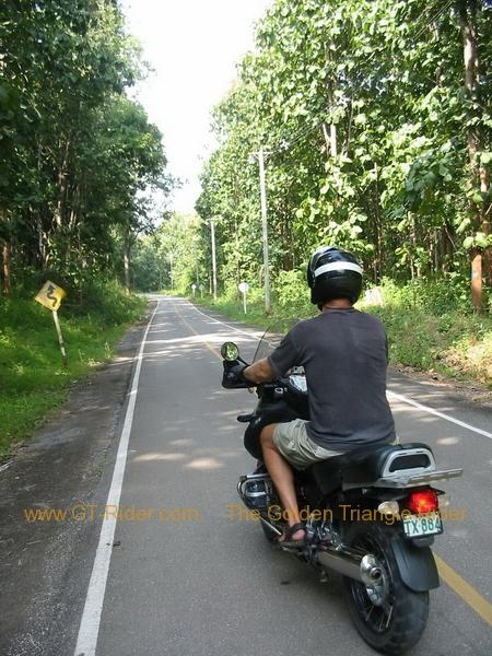 The teak forest road
