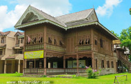 Thailand - Phrae & its beautiful old European buildings.