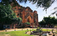 Myanmar - Bagan World Heritage status threatened by landscaping.