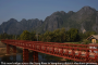 Laos – Vang Vieng – new Xong river bridge