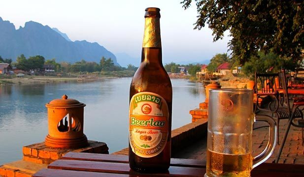 Riverside Rest and a Cold Beer Laos...
