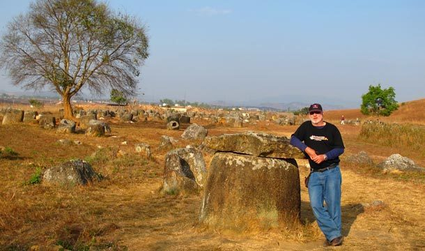 Across surreal landscapes of the Plain of Jars