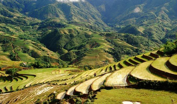 All the Way to the Sapa Highlands of Vietnam