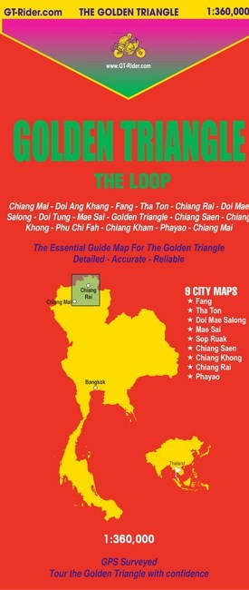 THE GOLDEN TRIANGLE GUIDE MAP