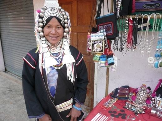 Akha Saleswoman - Doi Mae Salong / Santikhiri