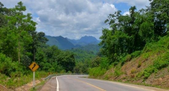 Mae Sariang to Mae Sot - Highway 105