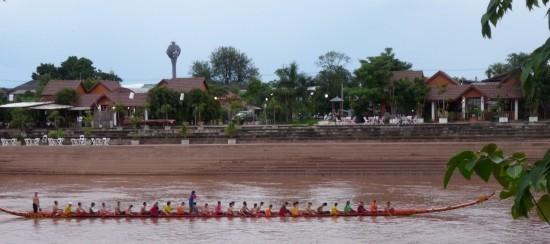 Nan boat races - Nan, Thailand
