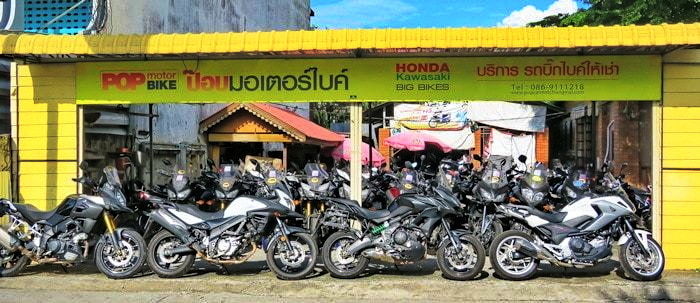 Motorcycle Rental - Chiang Mai, Thailand, S E  Asia | The GT