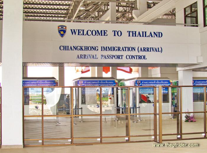 Thailand - Laos - Cambodia - Myanmar Border Crossings