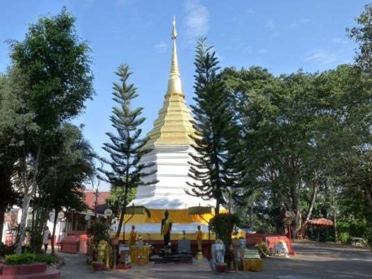 Stupa - Wat Phra Kaew, Chiang Rai