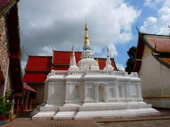 Chedi - Wat Phra Non, Chiang Rai