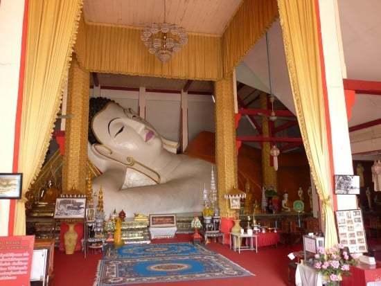 Reclining Buddha - Wat Phra Non - Chiang Rai