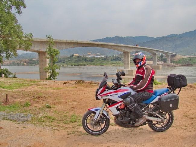 New Chiang Khong - Houei Xai Laos Bridge