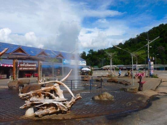 Mae Kachan - hot springs