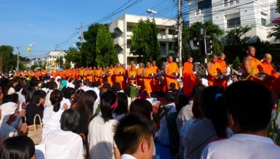 1000 Monks Gather in Chiang Rai