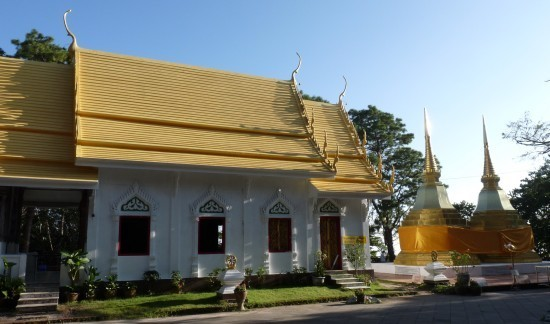 Wat Phra That Doi Tung - Ubosot