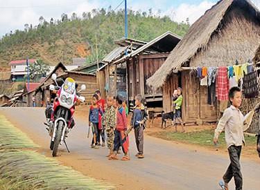 Motorbike touring - Thailand-375