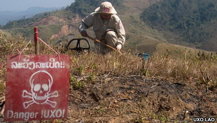 Laos – clearing unexploded ordnance | The GT Rider