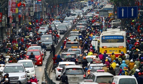 Hanoi decides to ban motorbikes from inner areas by 2030