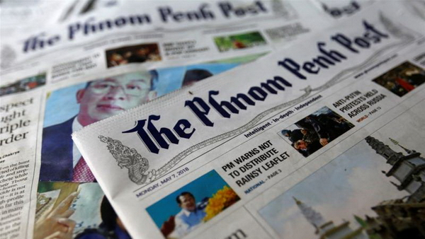 Cambodia - the end of the Phnom Penh Post Newspaper