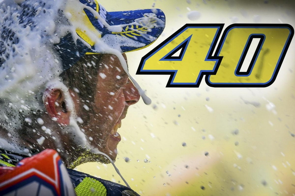 VR46 - Happy 40th Birthday Valentino Rossi