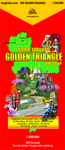 New 2020 GTR Golden Triangle guide map