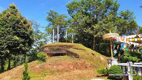 Doi Larng - Mae Ai - & the old camp of Khun Sa the opium warlord.